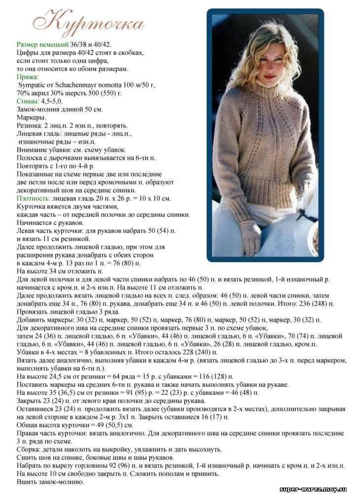 Описание: вязанные кофты весна 2012 - вязание для.